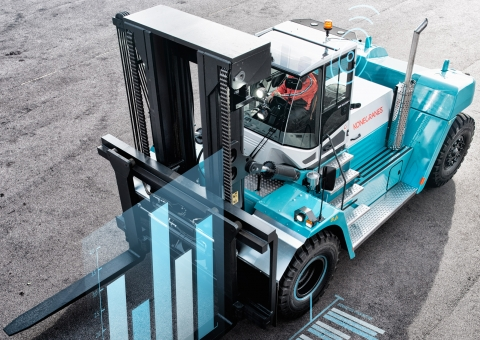 Truconnected lift truck